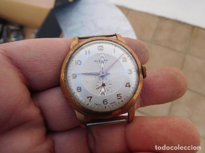 RELOJ MANUAL MARCA GLACIER AÑOS 50 (Relojes - Pulsera Carga Manual)