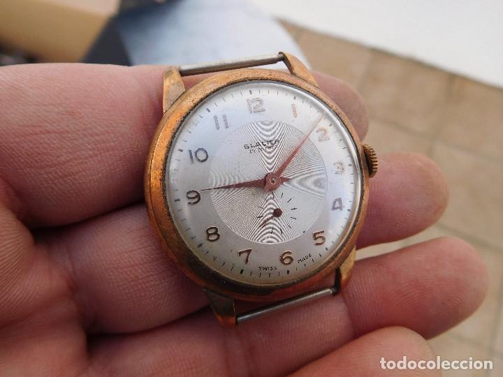 Relojes de pulsera: Reloj manual marca Glacier años 50 - Foto 2 - 182627991