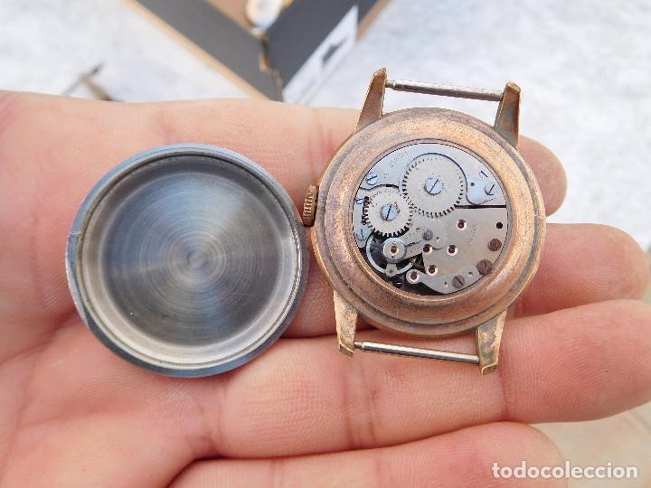 Relojes de pulsera: Reloj manual marca Glacier años 50 - Foto 9 - 182627991
