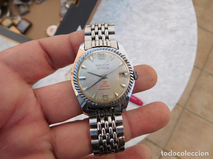 RELOJ MANUAL MARCA DIANTVS AÑOS 60 (Relojes - Pulsera Carga Manual)