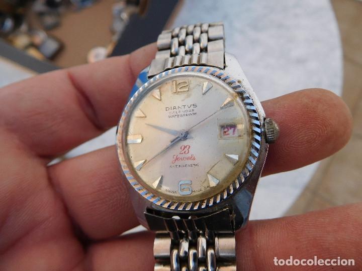 Relojes de pulsera: Reloj manual marca Diantvs años 60 - Foto 3 - 182628598