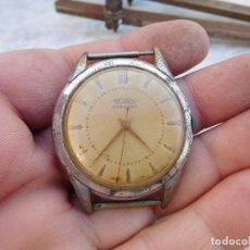 Relojes de pulsera: RELOJ MANUAL MARCA TECHNOS AÑOS 50. Lote 182629877
