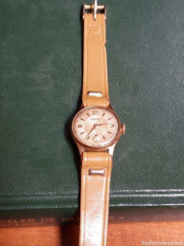 Relojes de pulsera: RELOJ CAUNY PRIMA ANTIMAGNETIC - Foto 6 - 182641193