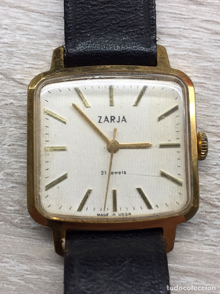 Relojes de pulsera: Reloj ZARJA USSR 21 jewels caballero. - Foto 2 - 182642327