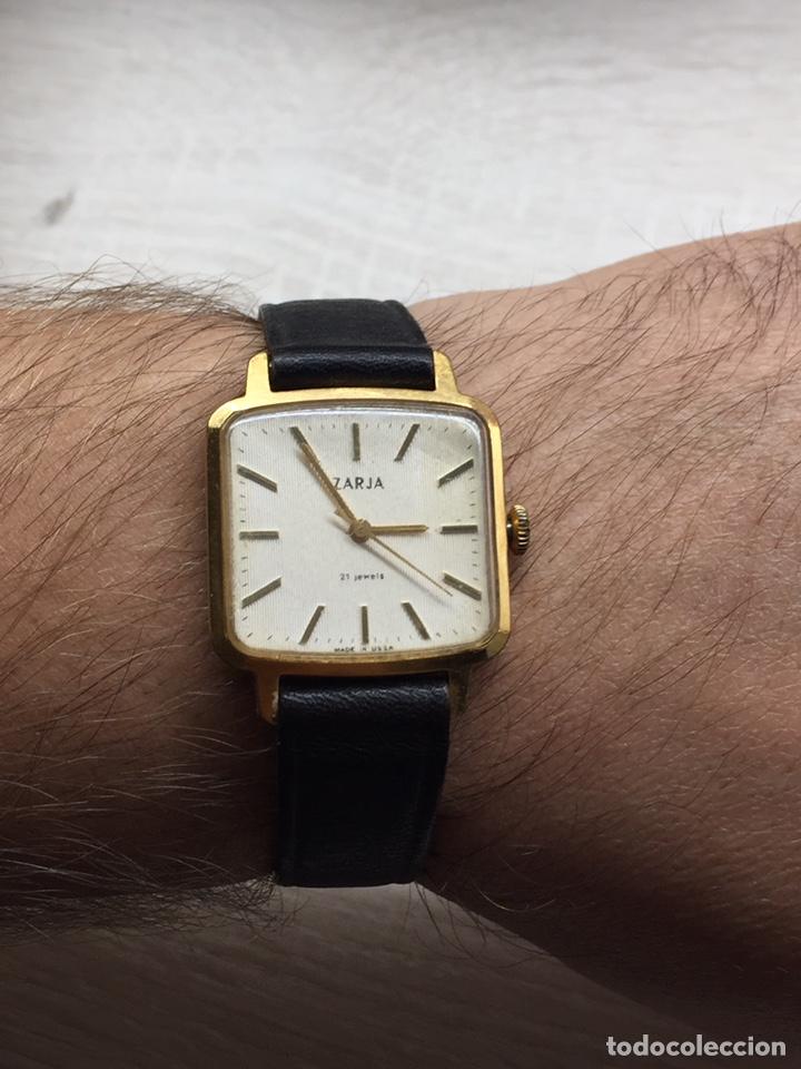 Relojes de pulsera: Reloj ZARJA USSR 21 jewels caballero. - Foto 6 - 182642327