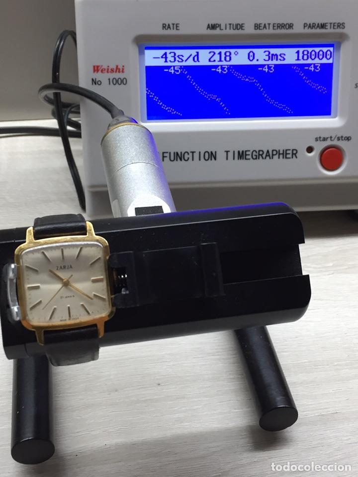 Relojes de pulsera: Reloj ZARJA USSR 21 jewels caballero. - Foto 8 - 182642327