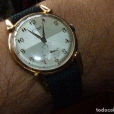 Relojes de pulsera: ELEGANTE RELOJ RADIANT GRANDE CALIBRE AS1130 RARO 21 RUBIS ESFERA TEXTURIZADA CARGA MANUAL AÑOS 50. Lote 182669756