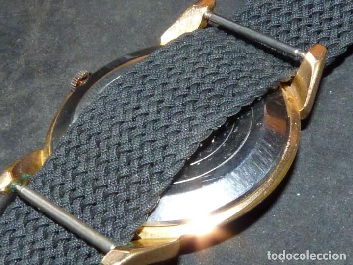 Relojes de pulsera: ELEGANTE RELOJ RADIANT GRANDE CALIBRE AS1130 RARO 21 RUBIS ESFERA TEXTURIZADA CARGA MANUAL AÑOS 50 - Foto 5 - 182669756