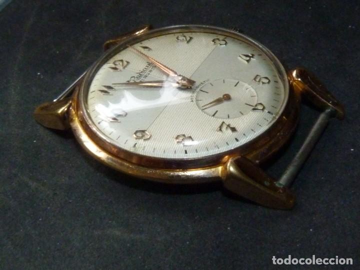 Relojes de pulsera: ELEGANTE RELOJ RADIANT GRANDE CALIBRE AS1130 RARO 21 RUBIS ESFERA TEXTURIZADA CARGA MANUAL AÑOS 50 - Foto 7 - 182669756