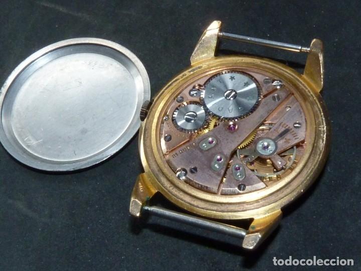 Relojes de pulsera: ELEGANTE RELOJ RADIANT GRANDE CALIBRE AS1130 RARO 21 RUBIS ESFERA TEXTURIZADA CARGA MANUAL AÑOS 50 - Foto 9 - 182669756