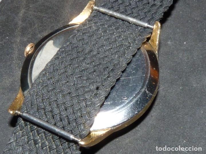 Relojes de pulsera: Precioso reloj CYMA calibre 586 swiss made 15 rubis años 50 BAJISIMO NÚMERO DE SERIE 130... 37 mms - Foto 3 - 182670566