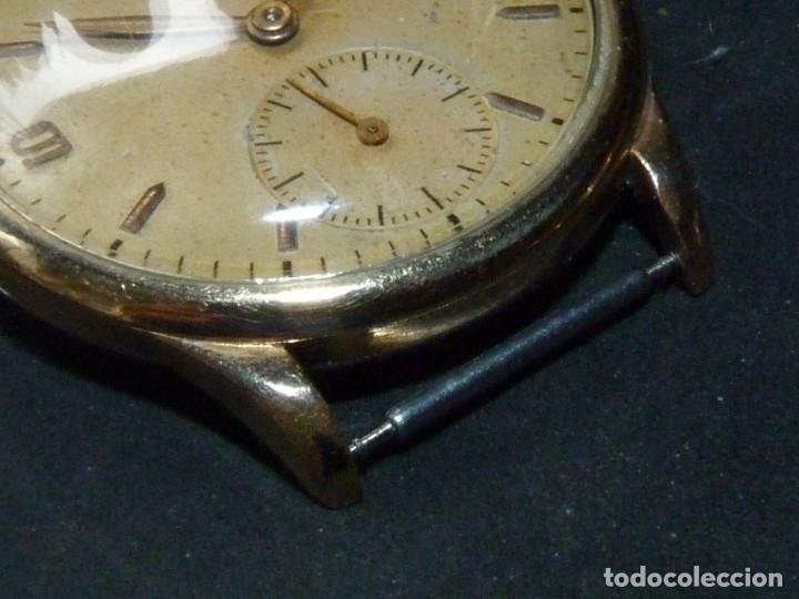 Relojes de pulsera: Precioso reloj CYMA calibre 586 swiss made 15 rubis años 50 BAJISIMO NÚMERO DE SERIE 130... 37 mms - Foto 5 - 182670566