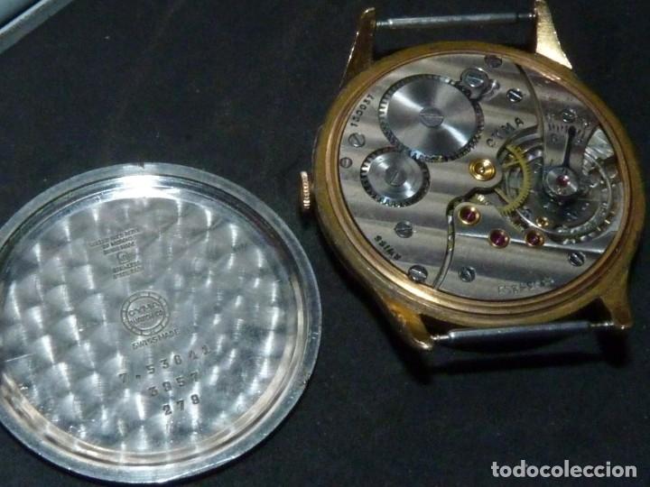 Relojes de pulsera: Precioso reloj CYMA calibre 586 swiss made 15 rubis años 50 BAJISIMO NÚMERO DE SERIE 130... 37 mms - Foto 6 - 182670566