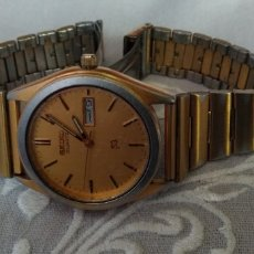 Relojes de pulsera: MUY DIFÍCIL, ( RELOJ SEIKO SQ. CALENDARIO ÁRABE, JAPAN TL. BASE METAL ST. FUNCIONANDO). Lote 182688311