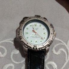 Relojes de pulsera: RELOJ ( MIYOTA JAPAN MOVT. SELECT WATER RESISTANT QUARTZ FUNCIONANDO ).. Lote 182721415