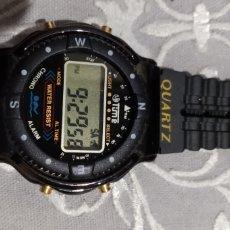 Relojes de pulsera: MUY DIFÍCIL ( ANTIGUO RELOJ DIGITAL TIME P.F. NUEVO!!! FUNCIONANDO ). VER FOTOGRAFÍAS.. Lote 182726986