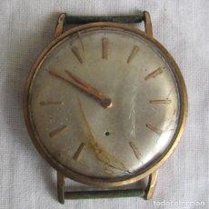 Relojes de pulsera: RELOJ SUIZO DE CUERDA LA CHAUX DE FONS BAÑO DE ORO PARA REPARAR. Lote 182748457