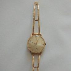 Relojes de pulsera: CYMA ORO, ANTIGUO RELOJ. MUY POCO COMÚN, MEDIADOS DEL S.XX.. Lote 182951006
