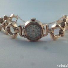 Relojes de pulsera: ORO 18 KILATES., ANTIGUO RELOJ CAUNY. SWISS MADE.. Lote 182959121