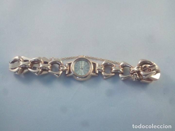 Relojes de pulsera: ORO 18 KILATES., ANTIGUO RELOJ CAUNY. SWISS MADE. - Foto 2 - 182959121