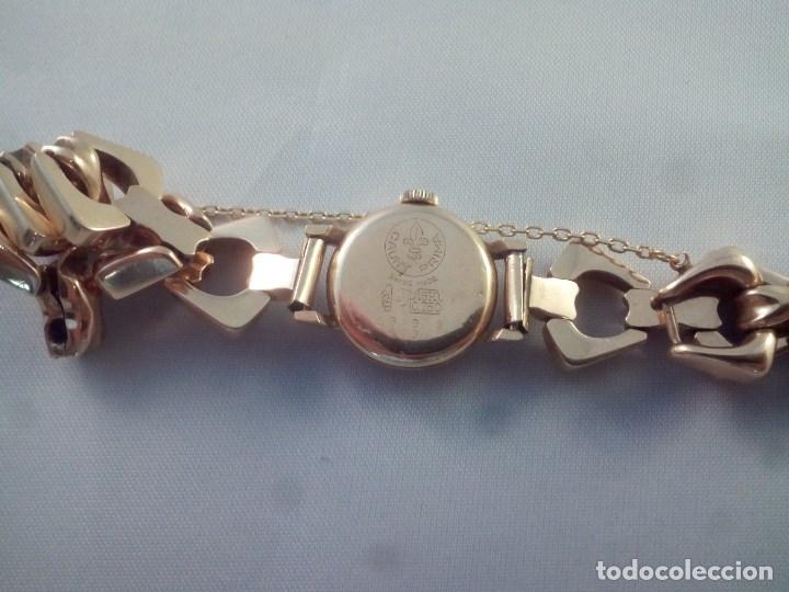 Relojes de pulsera: ORO 18 KILATES., ANTIGUO RELOJ CAUNY. SWISS MADE. - Foto 5 - 182959121