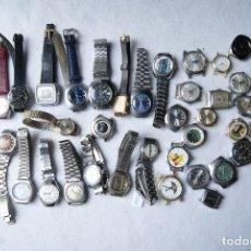Relógios de pulso: LOTE DE 37 RELOJES DE DAMA MECANICOS ALGUNO FUNCIONA F37. Lote 197281735