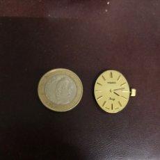 Relojes de pulsera: MAQUINARIA DUWARD KING 17 JEWELS, CUERDA MANUAL, FUNCIONANDO PERFECTAMENTE. Lote 183079878