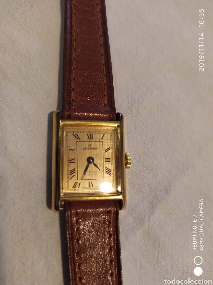 Relojes de pulsera: ESPECTACULAR RELOJ SUIZO A CUERDA, SIN ESTRENAR, AÑOS 60, MUJER, GROVANA, ALTA GAMA, VER - Foto 3 - 183295527
