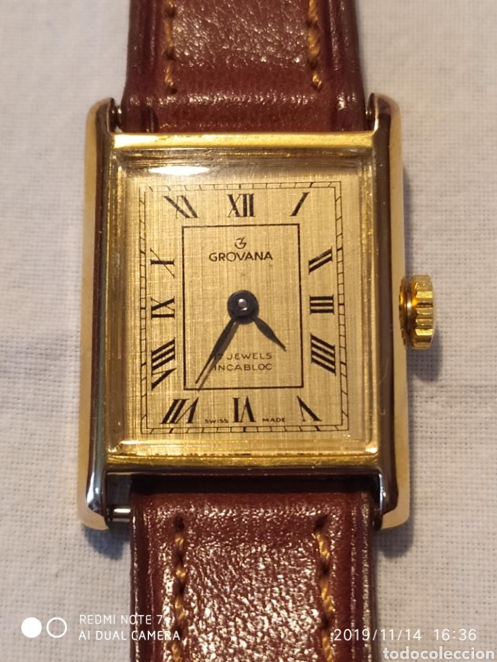 Relojes de pulsera: ESPECTACULAR RELOJ SUIZO A CUERDA, SIN ESTRENAR, AÑOS 60, MUJER, GROVANA, ALTA GAMA, VER - Foto 7 - 183295527