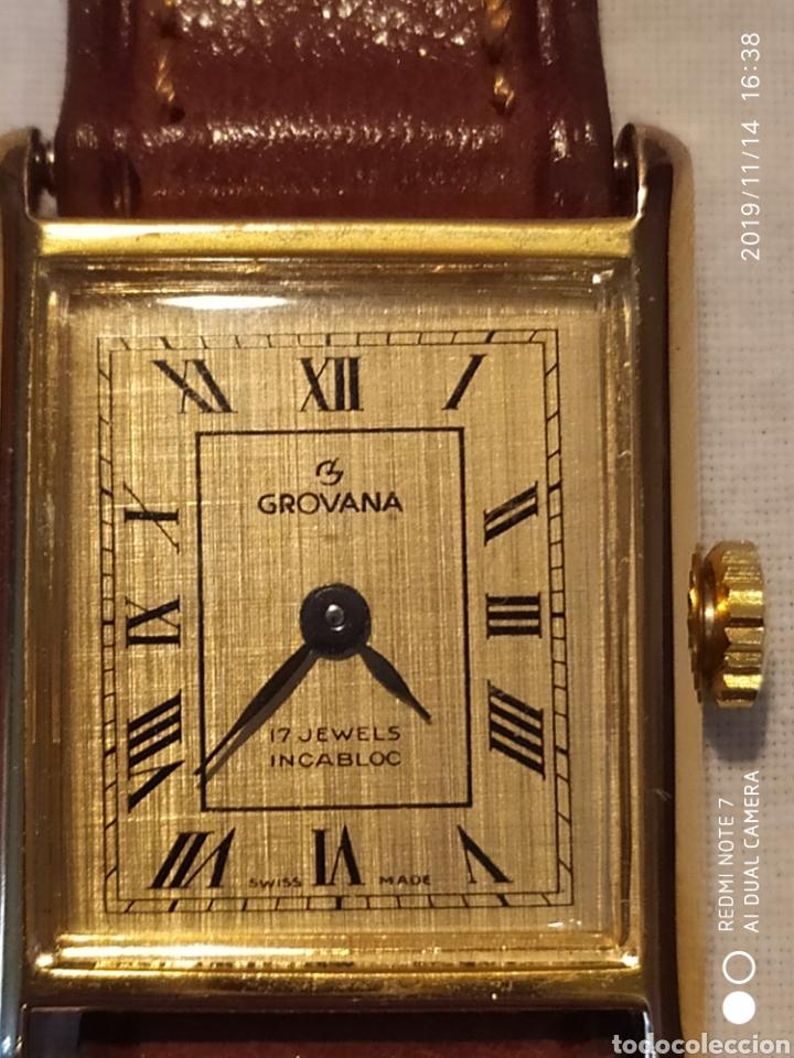Relojes de pulsera: ESPECTACULAR RELOJ SUIZO A CUERDA, SIN ESTRENAR, AÑOS 60, MUJER, GROVANA, ALTA GAMA, VER - Foto 12 - 183295527