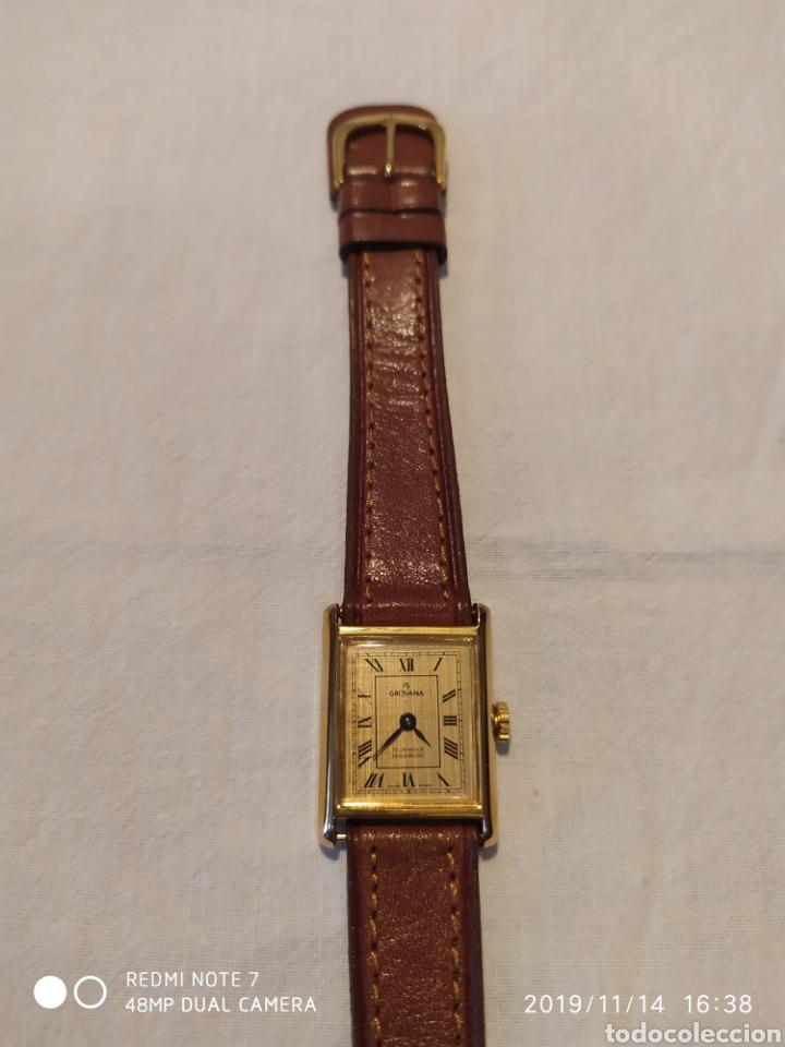 Relojes de pulsera: ESPECTACULAR RELOJ SUIZO A CUERDA, SIN ESTRENAR, AÑOS 60, MUJER, GROVANA, ALTA GAMA, VER - Foto 15 - 183295527