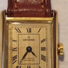 Relojes de pulsera: ESPECTACULAR RELOJ SUIZO A CUERDA, SIN ESTRENAR, AÑOS 60, MUJER, GROVANA, ALTA GAMA, VER. Lote 183295527