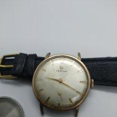 Relojes de pulsera: CERTINA 28-10 PLAQUE ORO FUNCIONANDO. Lote 183318205