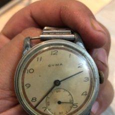 Relojes de pulsera: ANTIGUO RELOJ CYMA ACERO 42 MM - VER LAS FOTOS. Lote 183335967