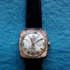 Relojes de pulsera: RELOJ MARCA CAUNY. CLÁSICO DE CABALLERO.. Lote 183407566