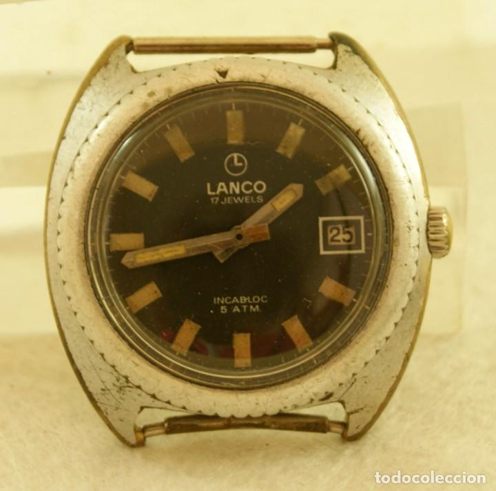 LANCO MECANICO TIPO DIVER FUNCIONANDO MAQUINA TISSOT 782-1 (Relojes - Pulsera Carga Manual)