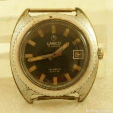 Relojes de pulsera: LANCO MECANICO TIPO DIVER FUNCIONANDO MAQUINA TISSOT 782-1. Lote 183407830