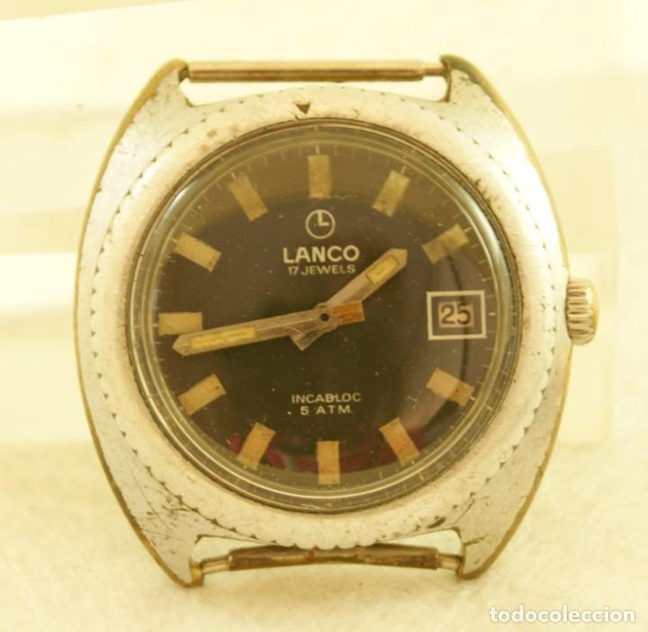 Relojes de pulsera: LANCO MECANICO TIPO DIVER FUNCIONANDO MAQUINA TISSOT 782-1 - Foto 2 - 183407830