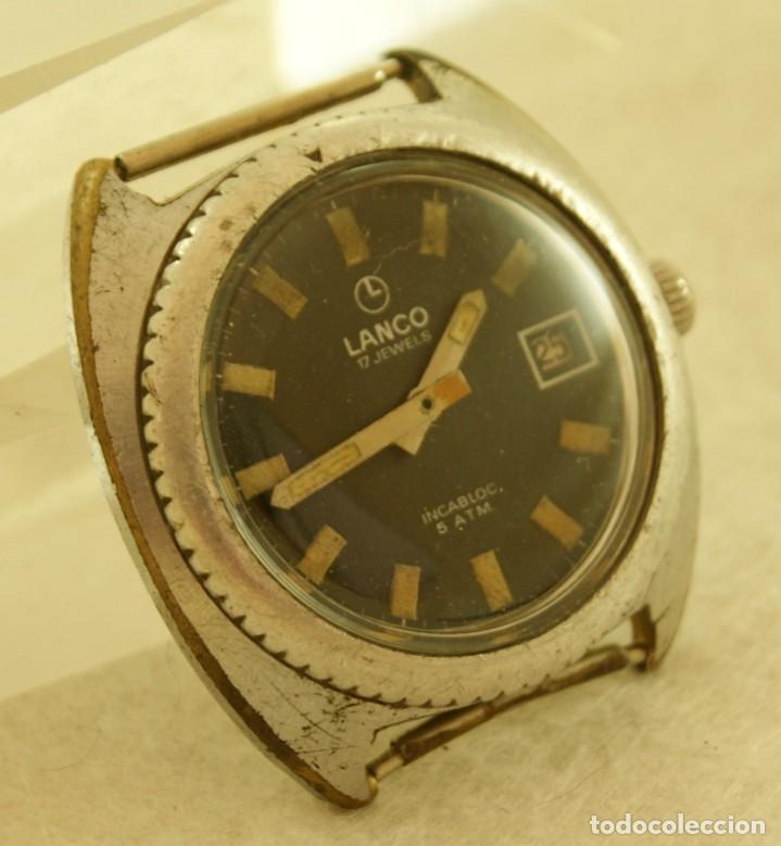 Relojes de pulsera: LANCO MECANICO TIPO DIVER FUNCIONANDO MAQUINA TISSOT 782-1 - Foto 3 - 183407830