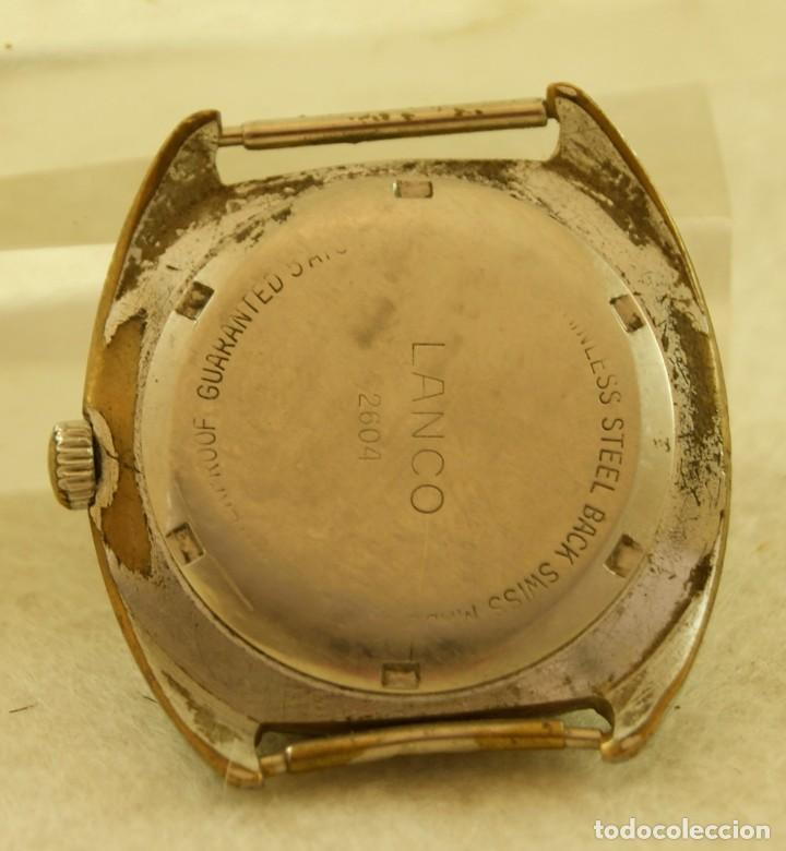 Relojes de pulsera: LANCO MECANICO TIPO DIVER FUNCIONANDO MAQUINA TISSOT 782-1 - Foto 4 - 183407830