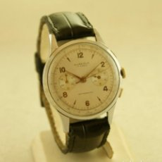 Relojes de pulsera: CRONOGRAFO MECANICO AUREOLE 38MM. Lote 183411351
