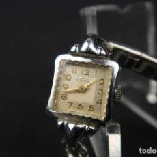 Relojes de pulsera: ANTIGUO RELOJ MUJER DE CUERDA DE LA MARCA VILUX. Lote 183505952