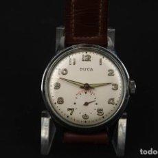 Relojes de pulsera: ANTIGUO RELOJ DE CUERDA DE LA MARCA DUCA. Lote 183506282