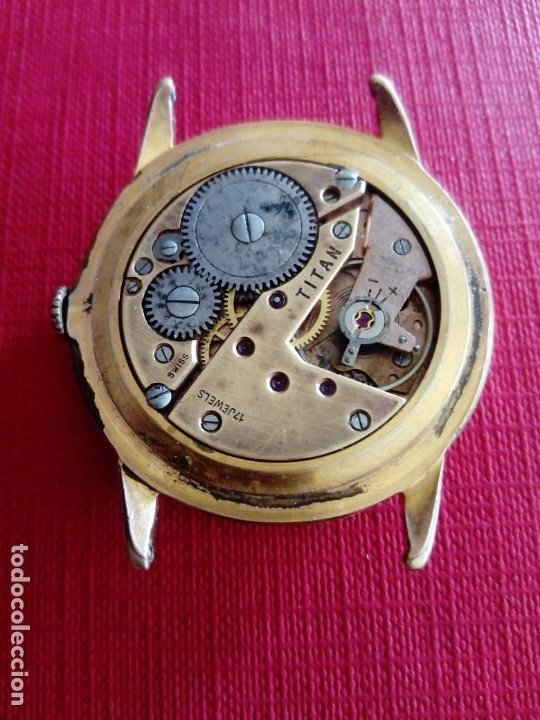 Relojes de pulsera: Inmenso Reloj Tanger de 39 mm máquina Titán - Foto 3 - 183741882