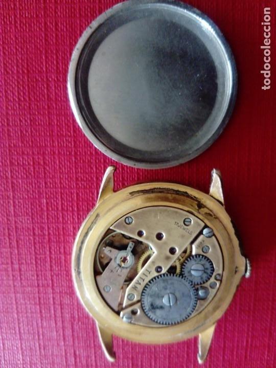 Relojes de pulsera: Inmenso Reloj Tanger de 39 mm máquina Titán - Foto 4 - 183741882