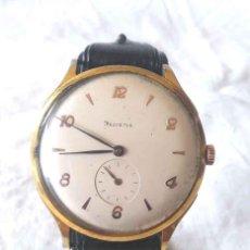 Relojes de pulsera: HELVETIA RELOJ PULSERA FUNCIONA AÑOS 50 MED. 38 MM SIN CONTAR CORONA. Lote 184020202