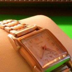 Relojes de pulsera: ANTIGUO EDVINA - SUIZO. AÑOS 50. FUNCIONANDO Y REVISADO. NBRE 2019. 22 MM. S/C. CARGA MANUAL. FOTOS. Lote 184021336