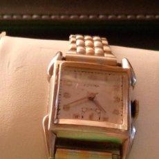 Relojes de pulsera: ANTIGUO EDVINA - SUIZO. AÑOS 50. FUNCIONANDO. REVISADO. DE SEÑORA. 22 MM. S/C. CARGA MANUAL. FOTOS. Lote 184021336