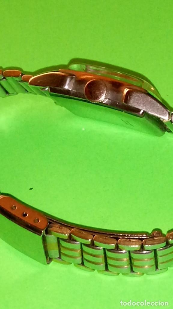 Relojes de pulsera: ANTIGUO EDVINA - SUIZO. AÑOS 50. FUNCIONANDO Y REVISADO. NBRE 2019. 22 MM. S/C. CARGA MANUAL. FOTOS - Foto 9 - 184021336