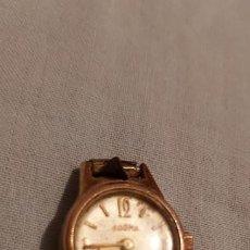 Relojes de pulsera: RELOJ DE MUJER DOGMA ORO 10 MICRONS 17 RUBIS. Lote 184051900